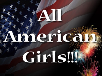 All Vegas girls are some of the most patriotic in the USA.